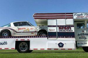 Dodge Hauler e Plymouth Barracuda, uma combinação perfeita