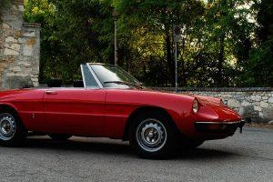 Alfa Romeo Spider 1300 Junior: O automóvel de família
