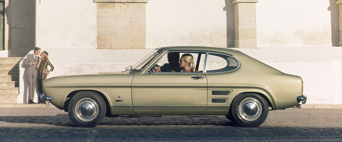 Ford Capri, o preferido dos jovens europeus nos anos 70