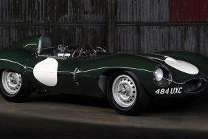Jaguar D-Type vai a leilão por 6,4 milhões de euros