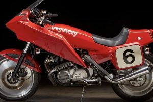 Bonhams leva a leilão rara Kawasaki KZ1000 Mystery Ship Turbo