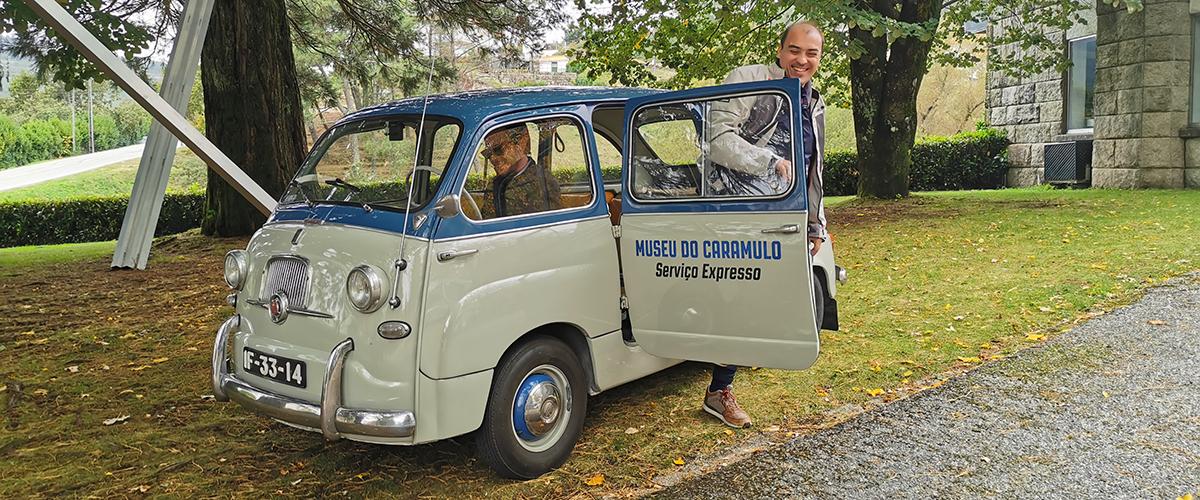 Passear nos automóveis do Museu do Caramulo? Agora já é possível