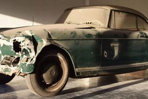 BMW 503 acidentado e guardado há 44 anos vendido por cerca de 90 mil euros