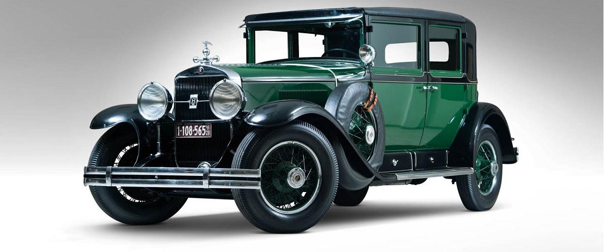 Cadillac Town Sedan que pertenceu a Al Capone está à venda por um milhão de dólares