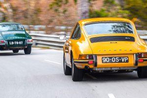 Porsche 911 2.0 Coupé e 2.4E em destaque na Topos & Clássicos