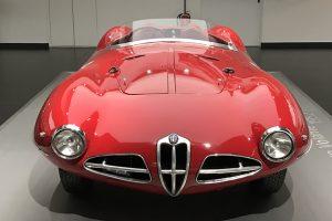 Museo Storico Alfa Romeo, um éden automóvel