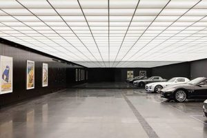 A garagem australiana construída ao estilo de Batman
