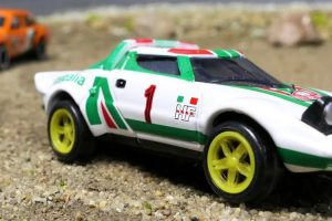 Diecast Rally Championship, a competição entre carros de brincar