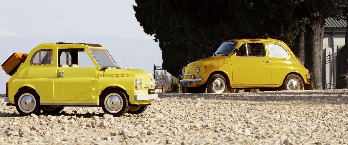 O Fiat 500 é a última novidade da LEGO Creator