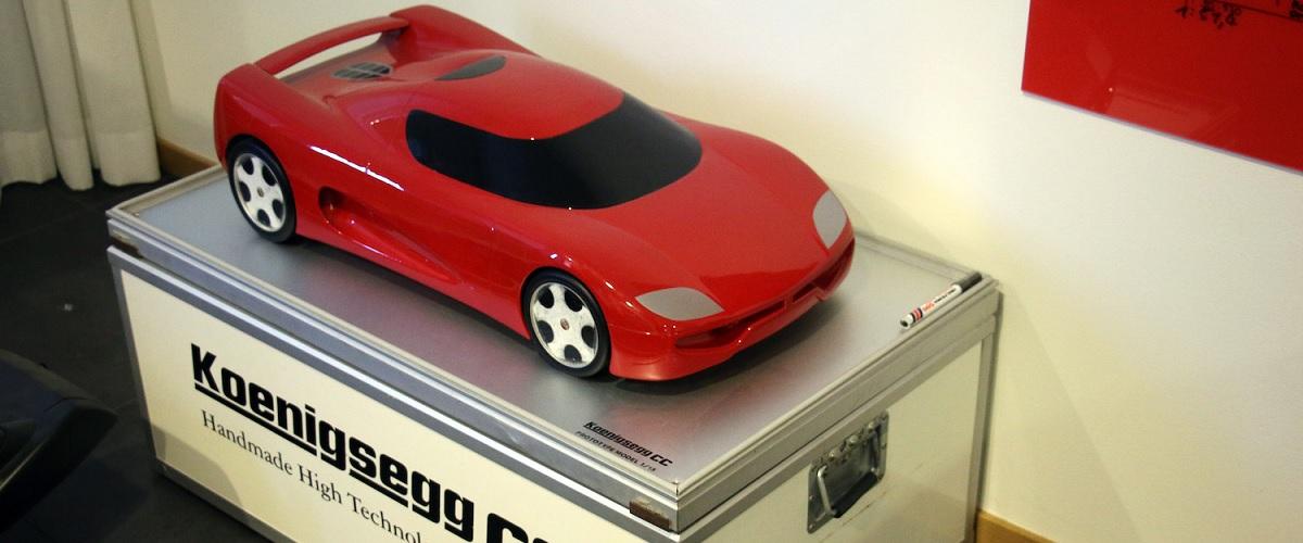 Encontrado o protótipo à escala do Koenigsegg CC perdido há mais de 20 anos