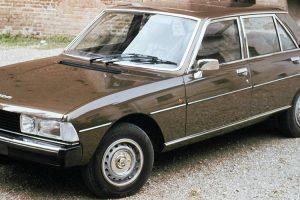 Peugeot 604, o conforto à moda francesa