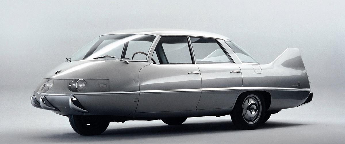 Pininfarina X, a aerodinâmica 60 anos à frente do tempo
