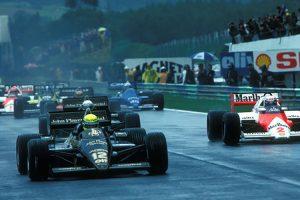 Ayrton Senna venceu o Grande Prémio de Portugal há 35 anos