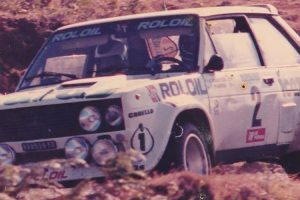 O Fiat 131 Abarth de Vudafieri, uma história acidental
