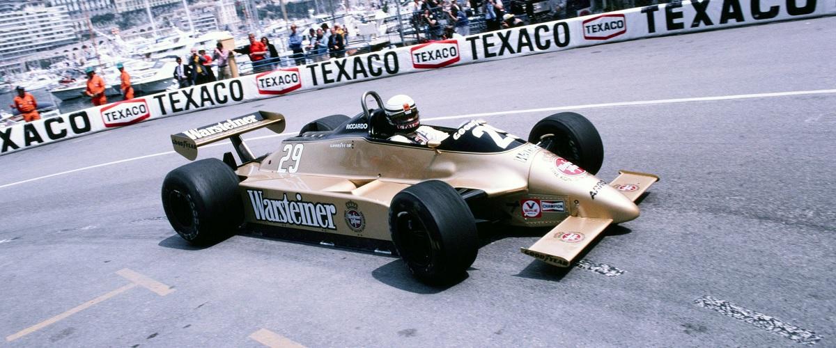 Arrows A3, um dos primeiros automóveis de Fórmula 1 da equipa britânica