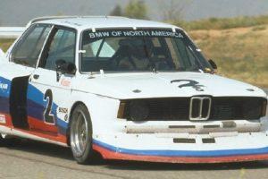 BMW 320i Turbo de Grupo 5 utilizado no IMSA preparado em conjunto com a McLaren