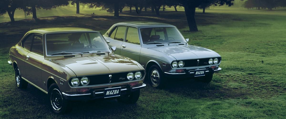 Mazda Capella Rotary e RX-2, o início da proliferação dos motores Wankel na marca