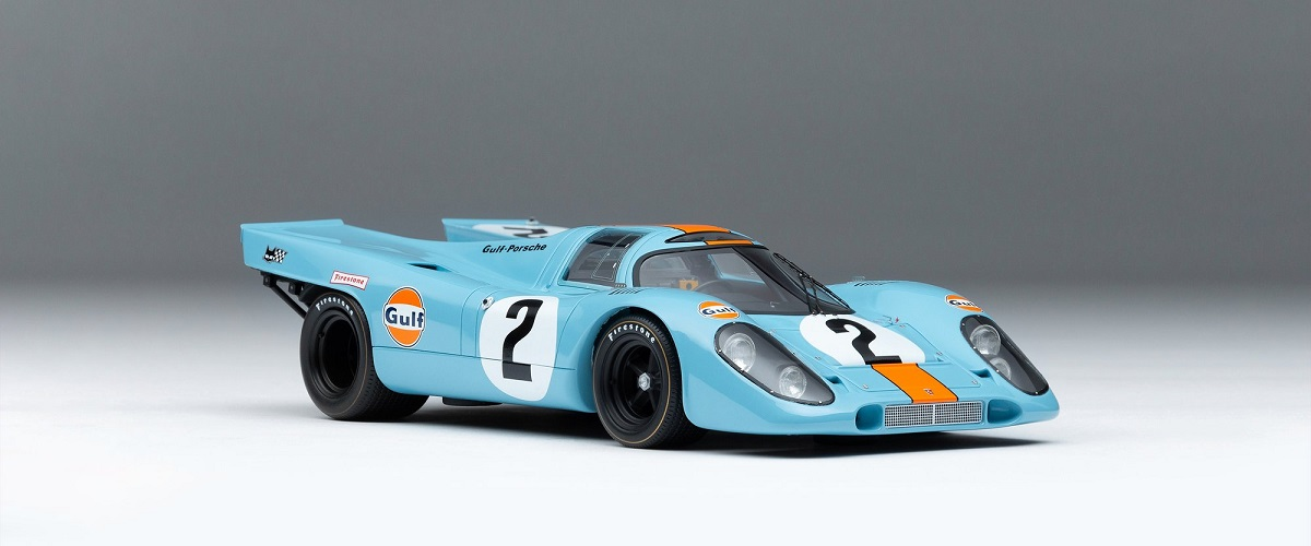 Amalgam Collection desenvolve réplica do Porsche 917K à escala 1:8