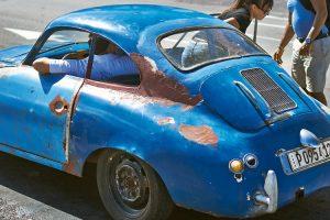 Os raros tesouros da Porsche em Cuba