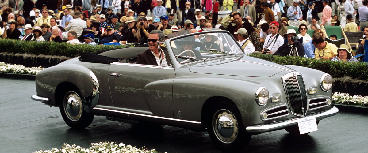 Lancia Aurelia B50 Cabriolet, um trabalho de excelência da Pinin Farina