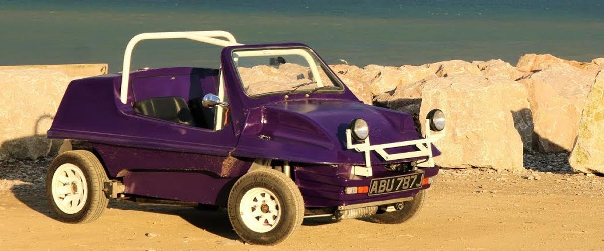 Stimson Mini Bug, um buggy produzido com base no icónico Mini