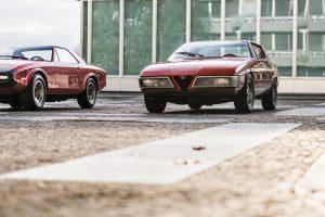 Dois protótipos da Alfa Romeo dos anos 70 que provavelmente desconhece