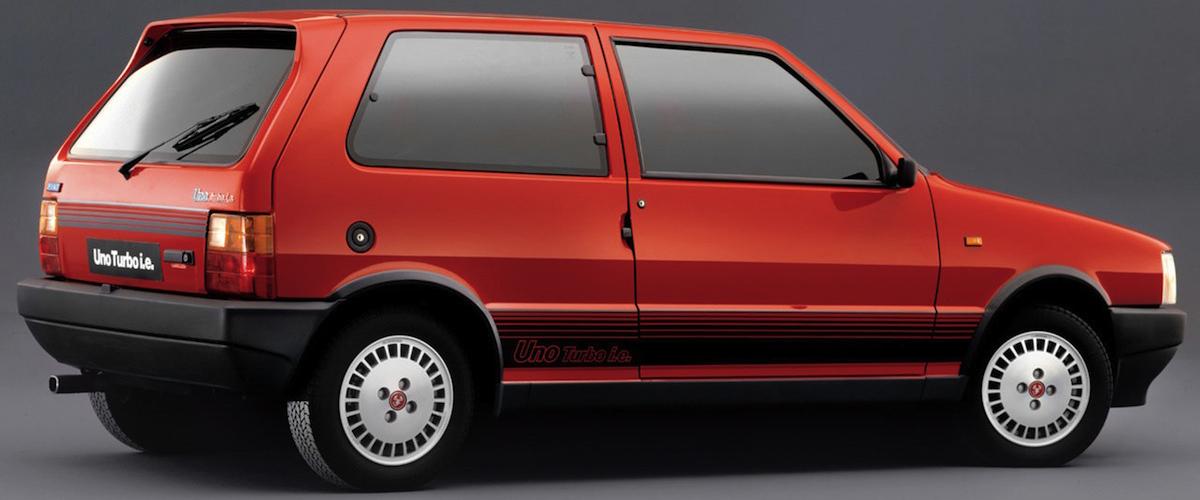 Jornal Dos Classicos Fiat Uno Turbo I E O Pocket Rocket Italiano