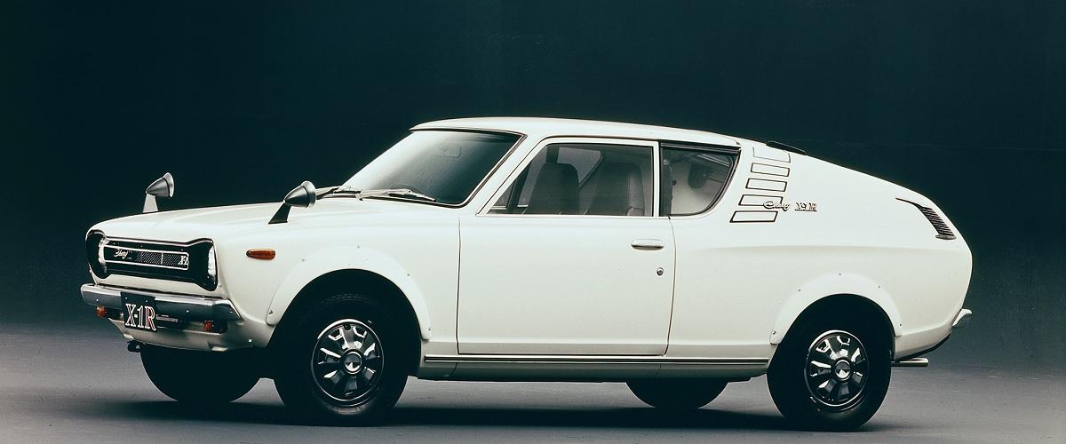 Nissan Cherry X-1, a versão desportiva do primeiro automóvel de tracção frontal da marca