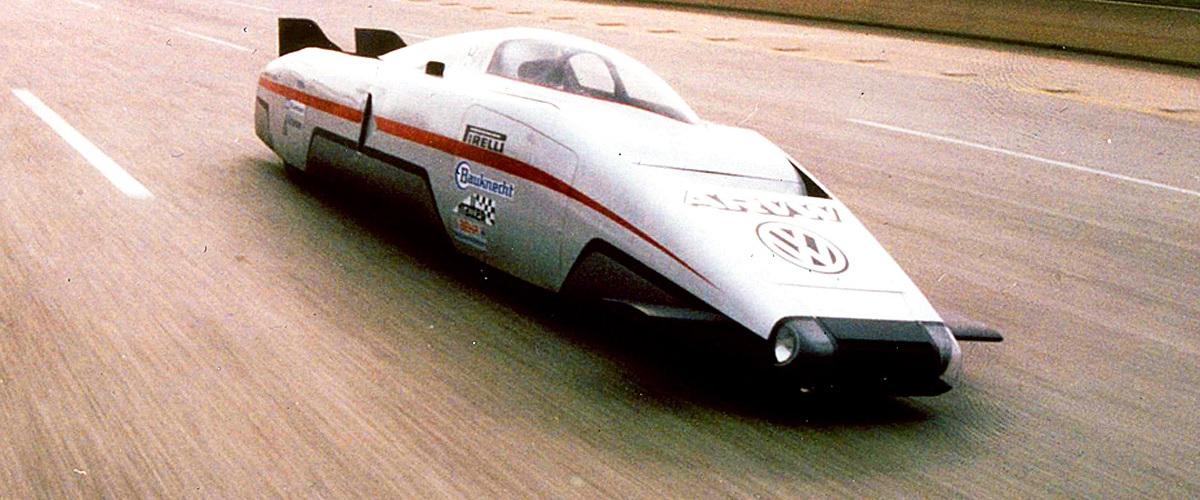 ARVW, o automóvel mais aerodinâmico contruído pela Volkswagen