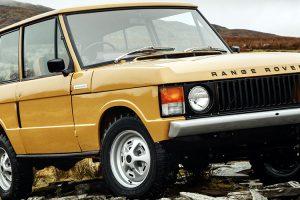 O mito e a história: O Range Rover faz 50 anos