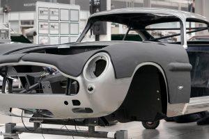 """Aston Martin inicia a produção do DB5 """"Goldfinger"""" Continuation"""
