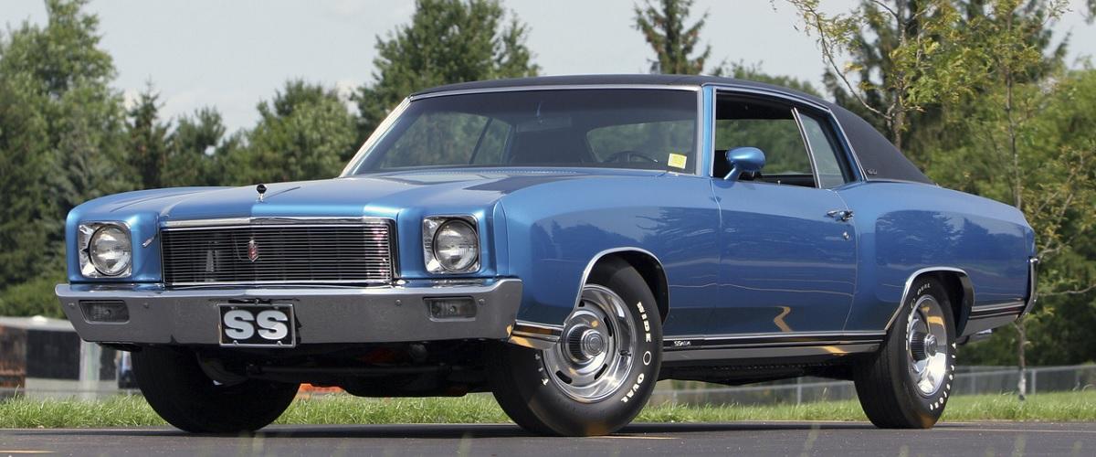 Chevrolet Monte Carlo SS, a versão mais potente da primeira geração do modelo