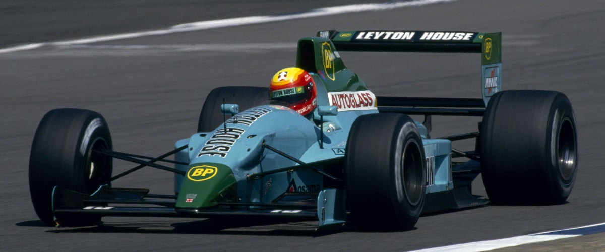 Leyton House CG901, o primeiro Fórmula 1 da pequena equipa britânica