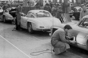 As linhas de produção dos automóveis clássicos