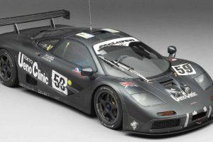 Amalgam Collection recria réplica à escala do McLaren F1 GTR vencedor de Le Mans