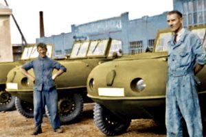 Trippel SG6, o Bugatti anfíbio e todo-o-terreno