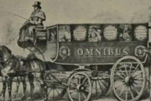Os primórdios do serviço público de transporte colectivo