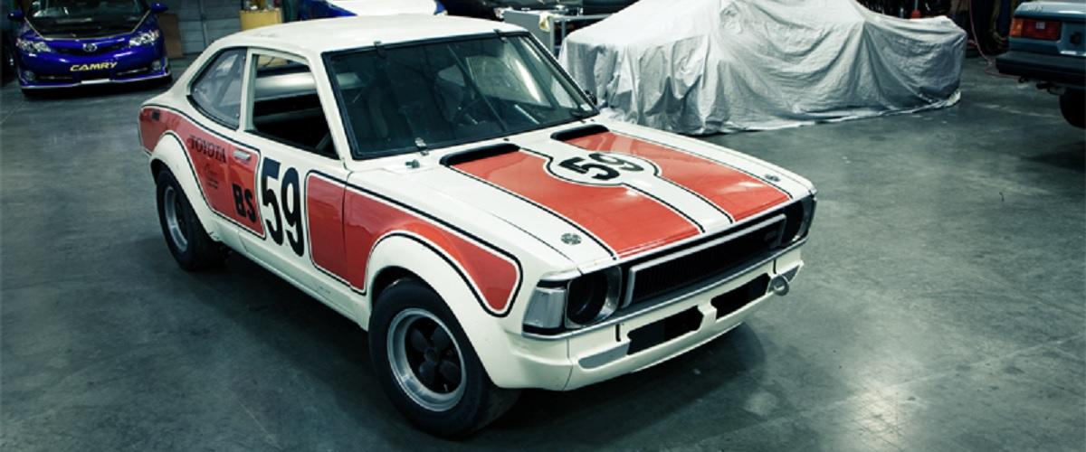 O Toyota Corolla TE27 com uma longa história nas competições do SCCA