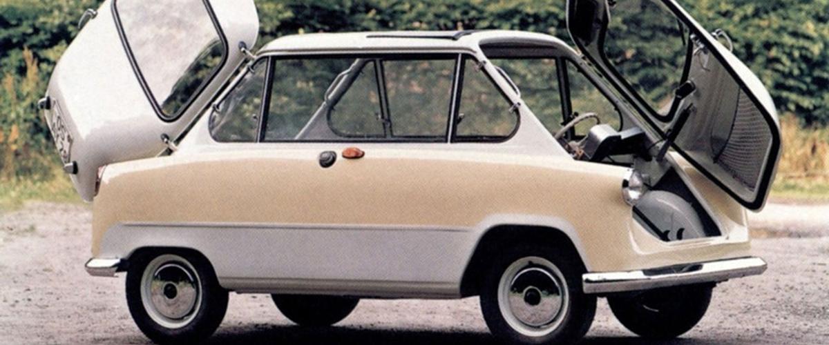 Zündapp Janus, o único veículo de quatro rodas vendido pela marca alemã