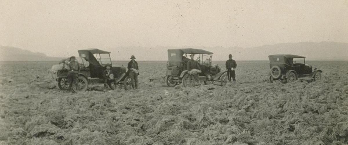 Uma road trip pelo Death Valley em 1926