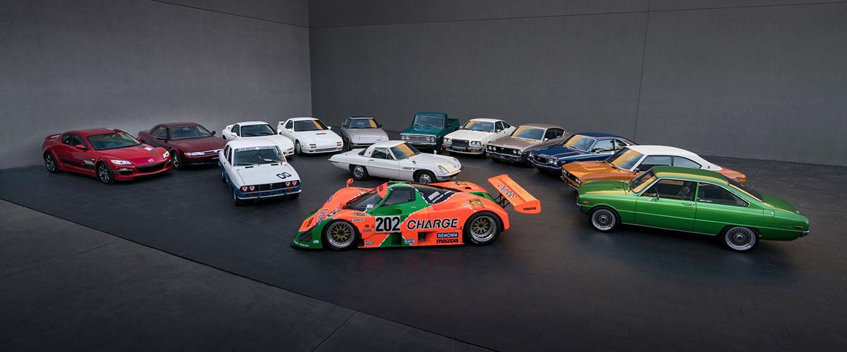 As notáveis estreias mundiais desenvolvidas pela Mazda