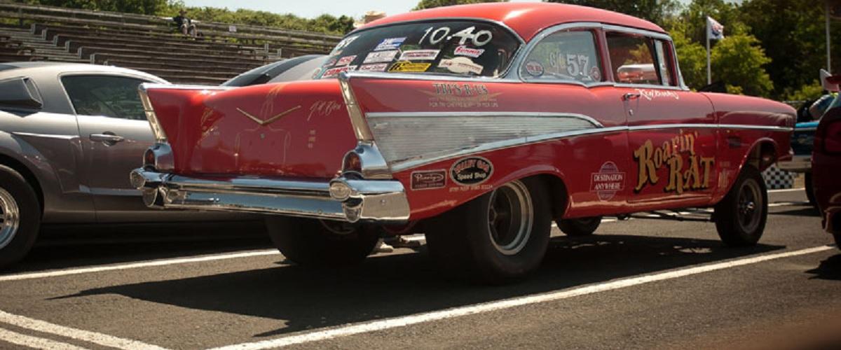 Roarin' Rat, um Chevrolet Bel Air com história nas provas de drag racing