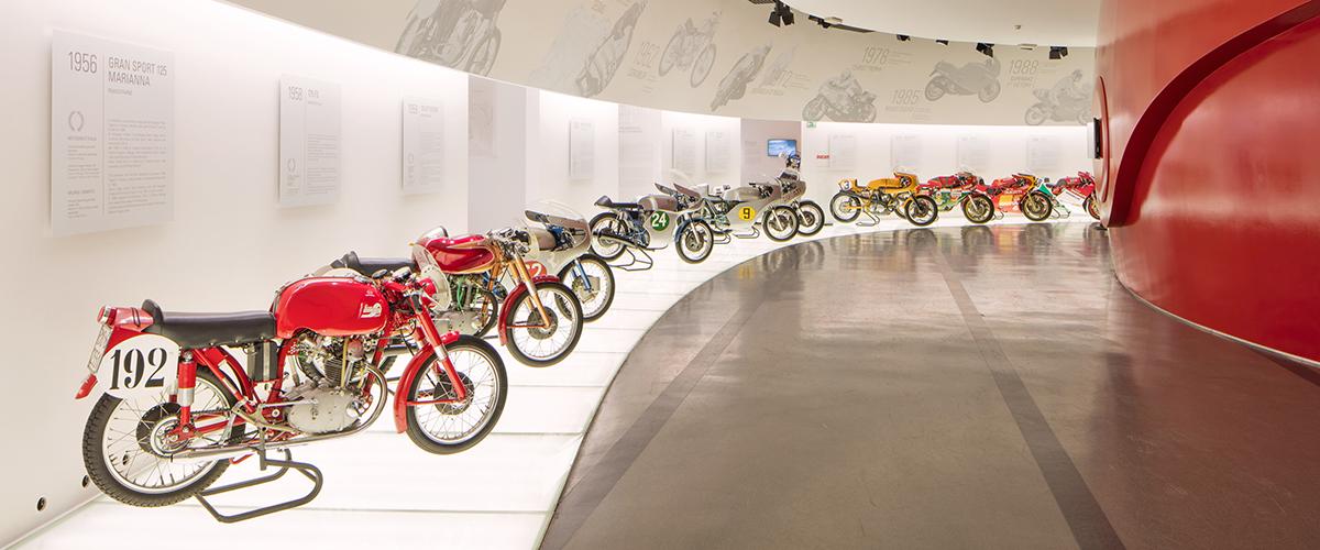 Ducati reabre museu combinando a visita com novas experiências