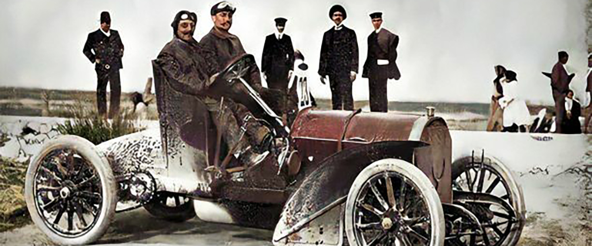 Snapshot: O Kilómetro Automóvel de Valada de 1906