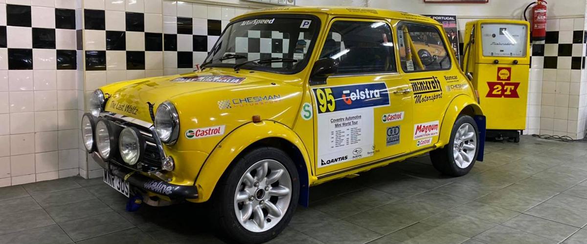 Fernando Soares participa no RallySpirit com Mini do Campeonato do Mundo
