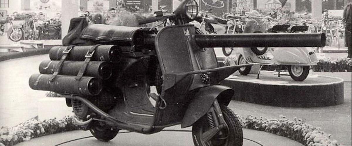 Seis veículos militares estranhos e bizarros