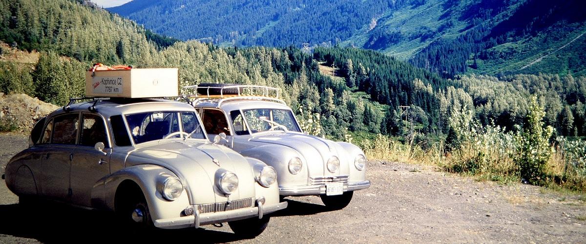 Dois Tatra T87 e uma roadtrip até Yukon