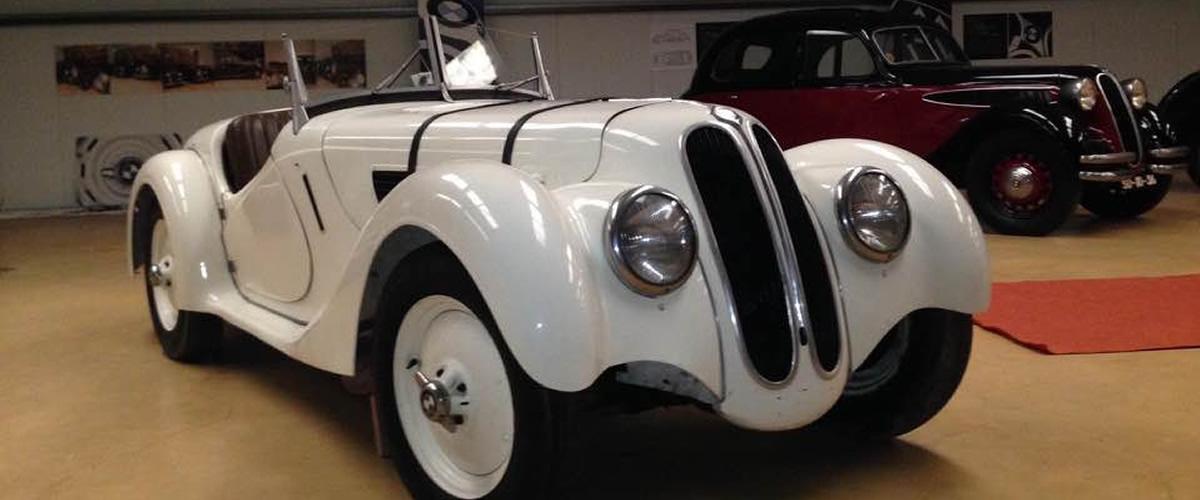 BMW 328 de 1937 roubado de colecção portuguesa