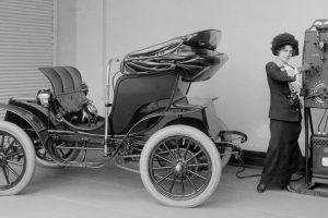 O retrato perdido dos automóveis eléctricos do passado