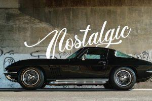 Chevrolet Corvette, nostalgia  americana